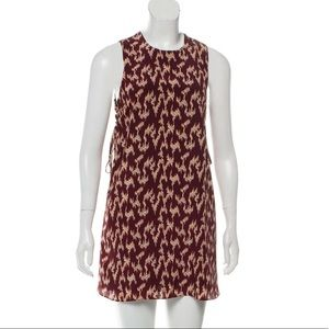 Elizabeth and James Brown Tan Dress Small